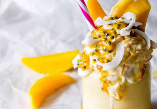 graze exclusive metro healthy freakshake recipe