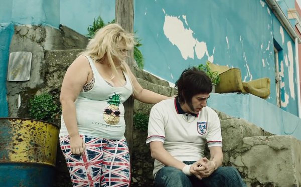 Rebel Wilson stars in Grimsby alongside Sacha Baron Cohen