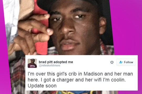 Guy Live Tweets Hiding In Girl's Closet After Actual Boyfriend Comes Round
