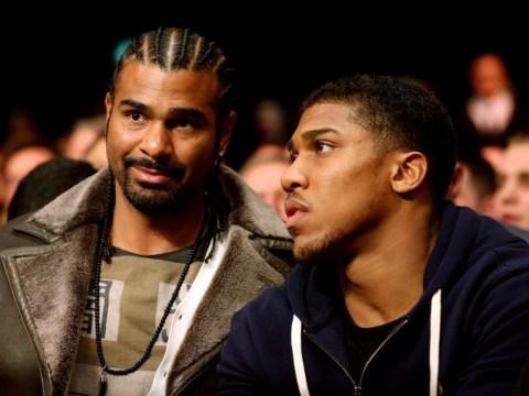 Anthony Joshua v David Haye fight could happen next summer, says Eddie Hearn