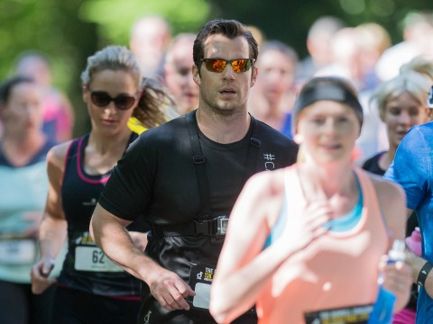 Fans approve of Henry Cavill's choice to wear spandex during the Durrell Challenge