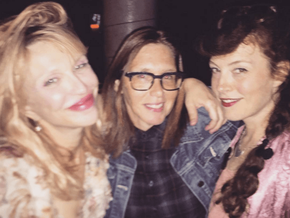 Did Courtney Love just reveal that Hole are getting back together?