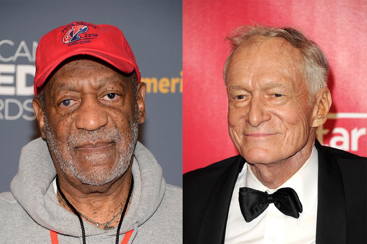 Hugh Hefner linked to Bill Cosby sex assault claim