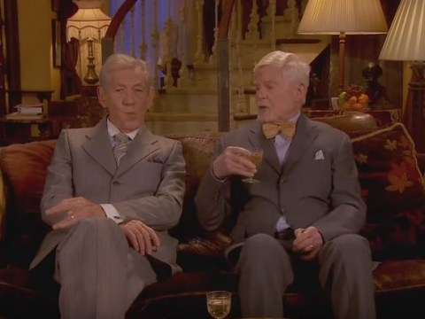 WATCH: Ian McKellen and Derek Jacobi perform Vicious sketch for Eurovision 2016