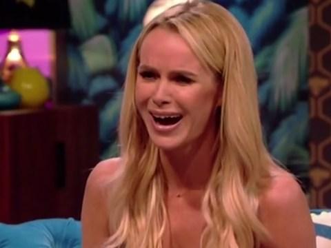 Amanda Holden went knickerless on Rylan Clark's new show leaving everyone feeling very awkward