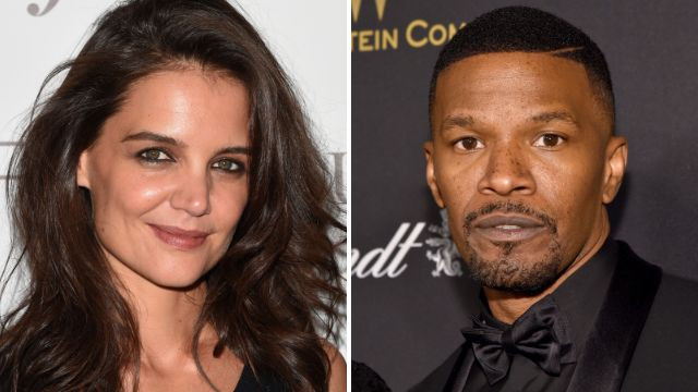 Katie Holmes is NOT pregnant with Jamie Foxx's baby, and they're not getting married despite reports