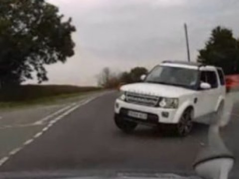 Dashcam footage shows road rage crash that left two young sisters paralysed