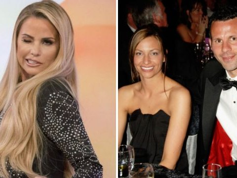 Katie Price claims Ryan Giggs flirted with her as football star 'splits from wife'