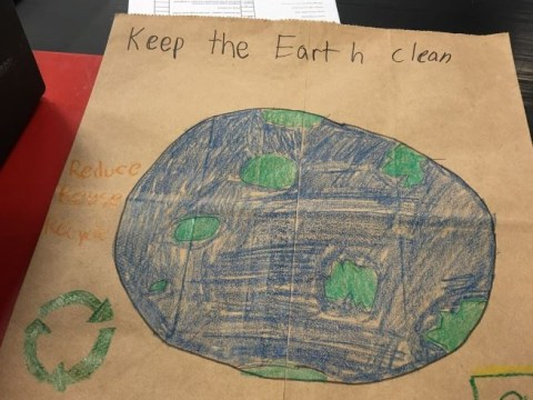 Kid's dirty message about keeping clean is genius