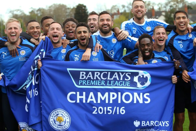 Leicester title win