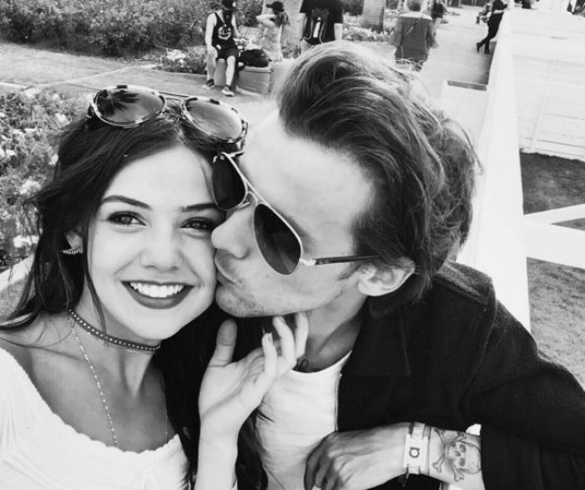 Louis with girlfriend Danielle Campbell (Picture: Instagram)