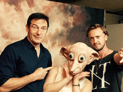 The Malfoys just had a Harry Potter reunion – with none other than Dobby