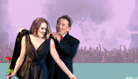 Adele reveals what it takes for Bruce Springsteen to lend you his coat
