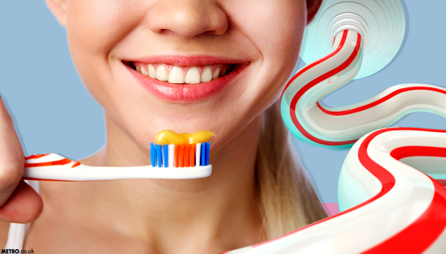This is how you should be brushing your teeth Picture: Getty Images - Credit: METRO/Mylo