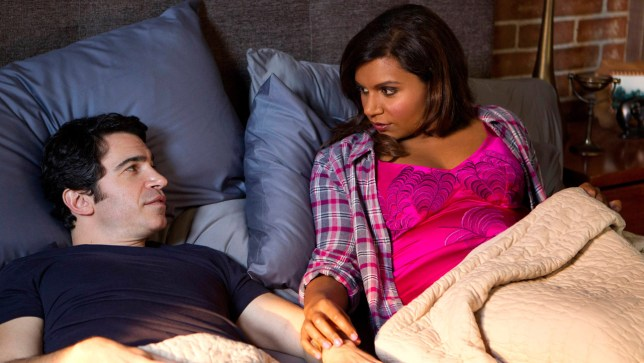 "THE MINDY PROJECT: Danny (Chris Messina, L) and Mindy (Mindy Kaling, R) discuss their move to San Francisco in the ""Lahiri Family Values"" episode of THE MINDY PROJECT airing Tuesday, Feb. 17 (9:30-10:00 PM ET/PT) on FOX. ©2015 John P. Fleenor/FOX"