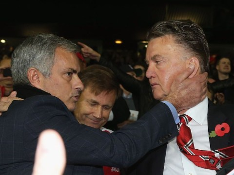 Jose Mourinho informed Louis van Gaal that he was facing the sack at Manchester United