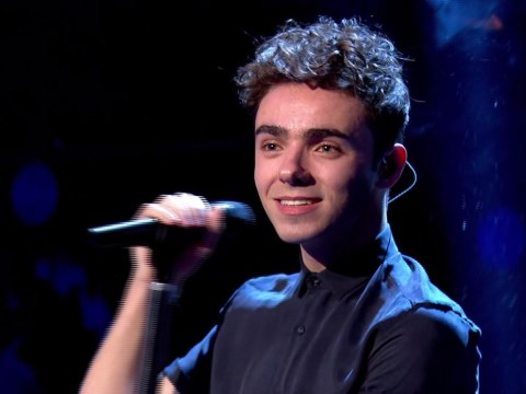Nathan Sykes performed on Tonight at the London Palladium and fans lost their minds