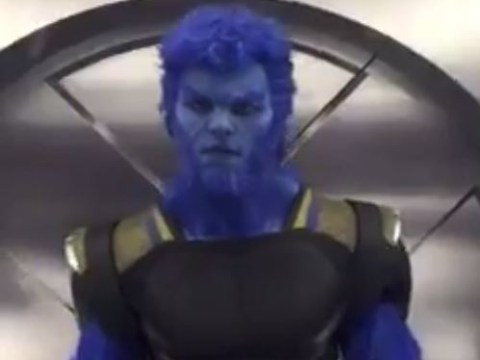 Nicholas Hoult and the X-Men cast go 'Beast Mode' in epic Dubsmash video