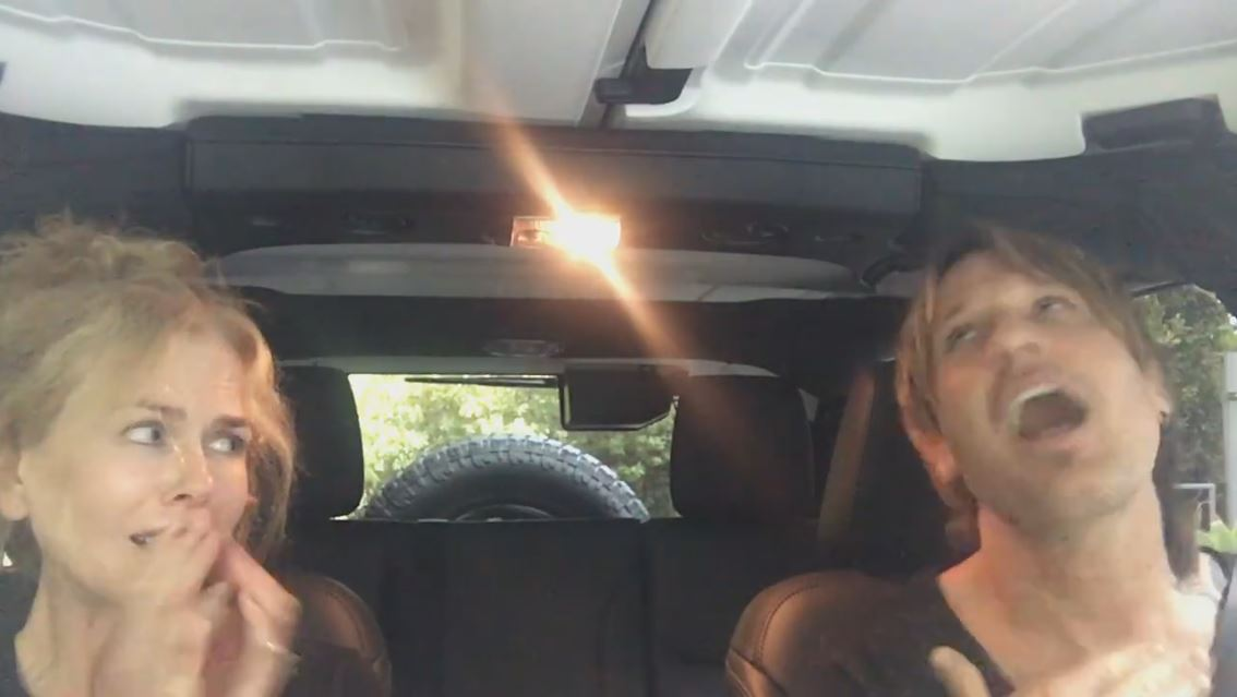 WATCH: Nicole Kidman and Keith Urban post adorable and hilarious Carpool Karaoke-inspired video
