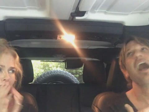 WATCH: Nicole Kidman and Keith Urban post adorable and hilarious Carpool Karaoke-inspired video