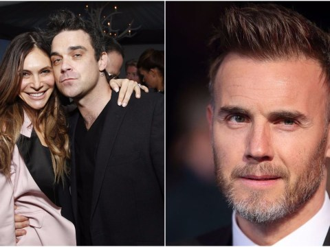 Awkward! Robbie Williams' wife Ayda Field rates 'dreamy' Gary Barlow as the sexiest member of Take That