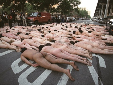 Loads of women are going to lie naked on the floor at the Republican National Convention