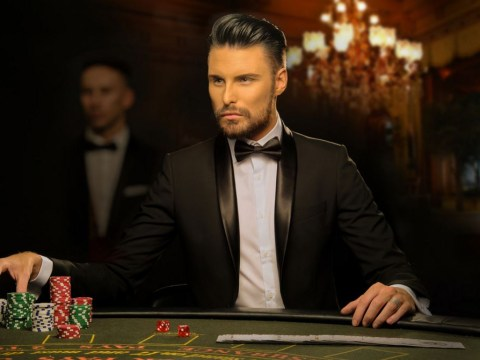 Could Rylan Clark-Neal be the next James Bond? These pictures certainly make him look like a 007 contender