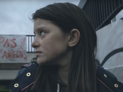 Powerful new Save the Children advert shows child fleeing war-torn London
