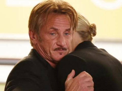 Sean Penn and Charlize Theron's hug at Cannes is the most awkward thing of all time