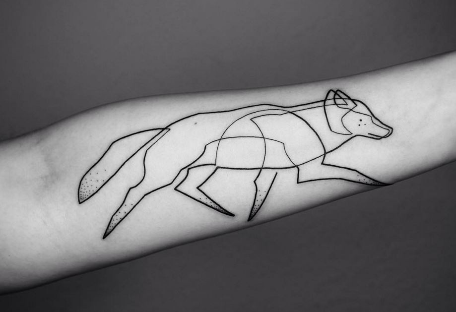 Mo Ganji S Single Continuous Line Tattoo Designs Are Absolutely Stunning Metro News