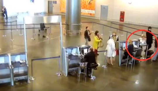 Jew Detector: Girl Sneaks Onto A Flight From Moscow To St Petersburg