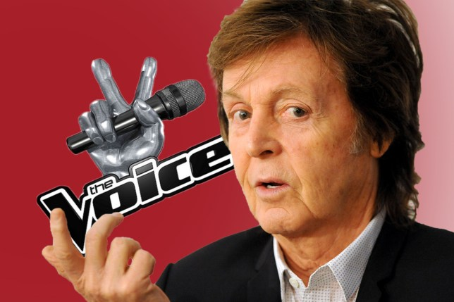 Will Sir Paul mcCartney be a judge on The Voice?