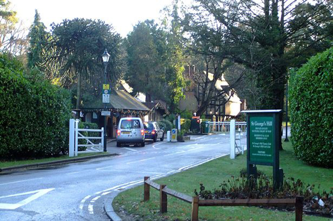 She was found dead in St George's Hill (Picture: Get Surrey)