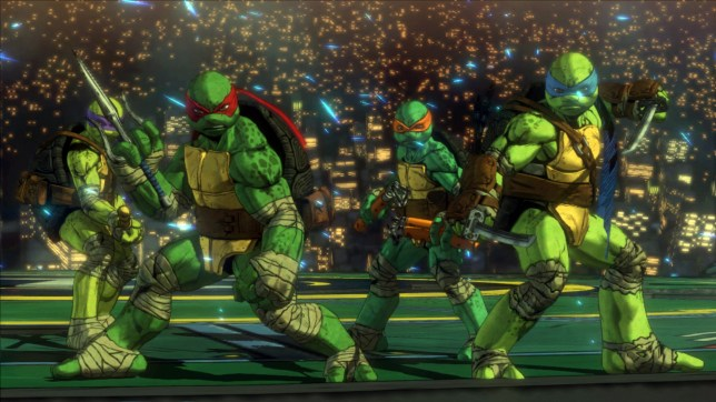Teenage Mutant Ninja Turtles: Mutants In Manhattan (PS4) - the Konami coin-op is still better