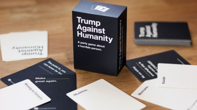 Trump against humanity cards