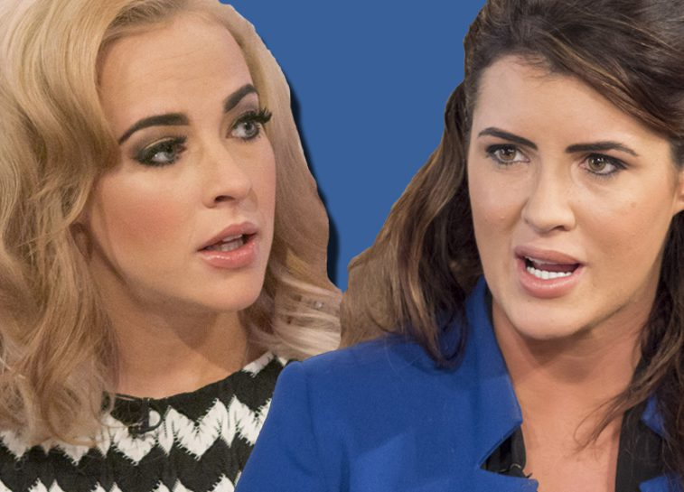 Stephanie Davis and Helen Wood in all out Twitter WAR branding each other 'sl*gs' and tarts'