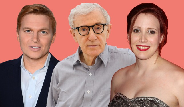 Ronan Farrow accuses father Woody Allen of forcing sister to suck his thumb as director hits Cannes Credit: Rex Features