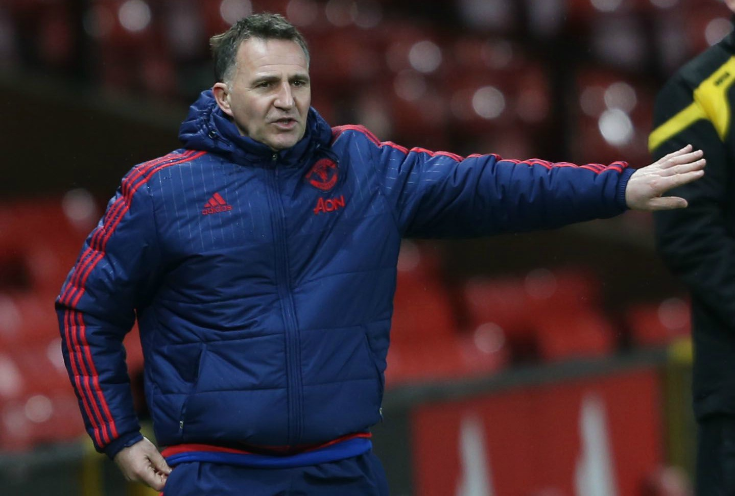 Manchester United Under-21 coach Warren Joyce in talks to become Blackburn Rovers manager