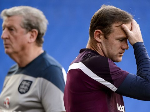 England's Roy Hodgson tells Wayne Rooney his place is not guaranteed as diamond formation scrapped for Euro 2016