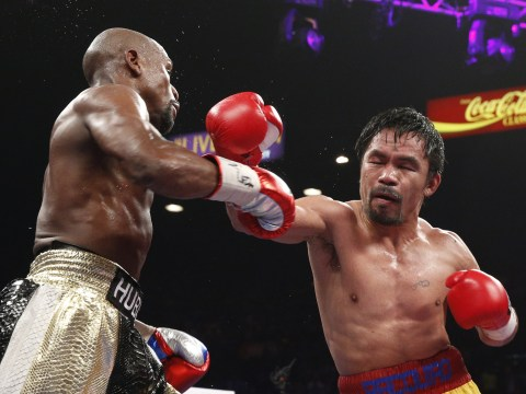 Manny Pacquiao's promoter teases Floyd Mayweather rematch