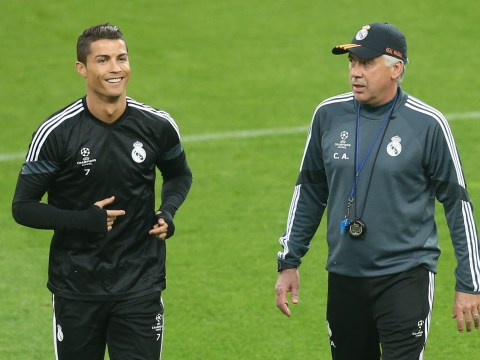 Cristiano Ronaldo never looked in the mirror, claims former Real Madrid boss Carlo Ancelotti
