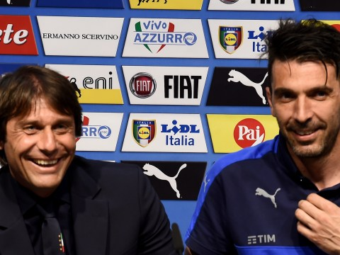 Gianluigi Buffon convinced Antonio Conte will be an 'excellent' Chelsea manager