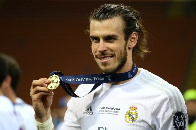 b356895b55b Gareth Bale won the Champions League with Real Madrid in 2015 16 (Picture   Getty)