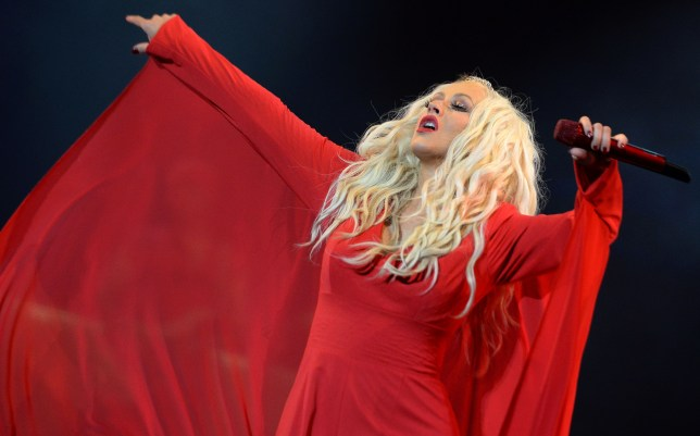 """USA singer Christina Aguilera performs during the World Music Festival """"Mawazine"""" in Rabat on May 28, 2016. (Picture: Fadel Senna/AFP)"""
