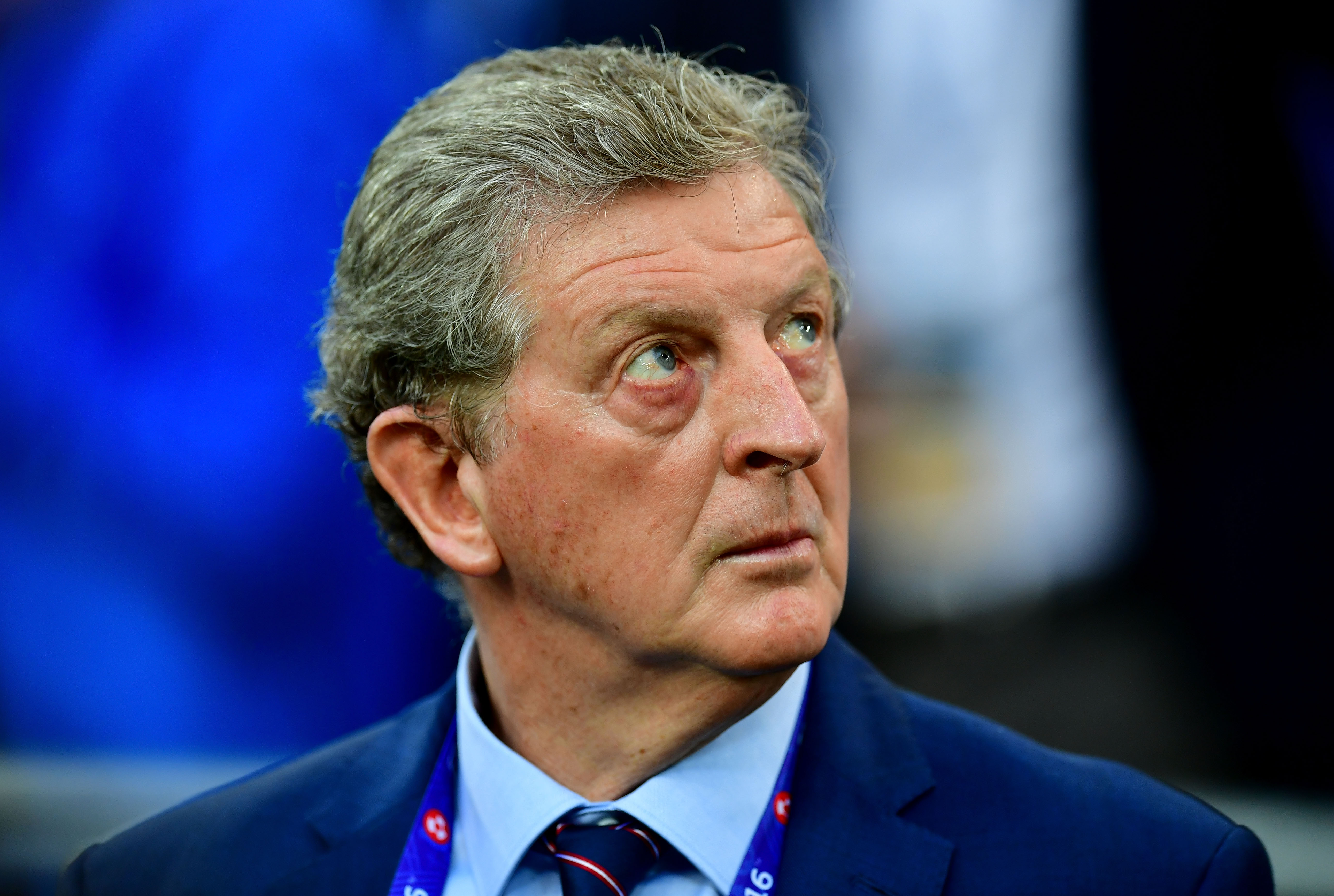 MARSEILLE, FRANCE - JUNE 11: Roy Hodgson manager of England looks on prior to the UEFA EURO 2016 Group B match between England and Russia at Stade Velodrome on June 11, 2016 in Marseille, France. (Photo by Dan Mullan/Getty Images)