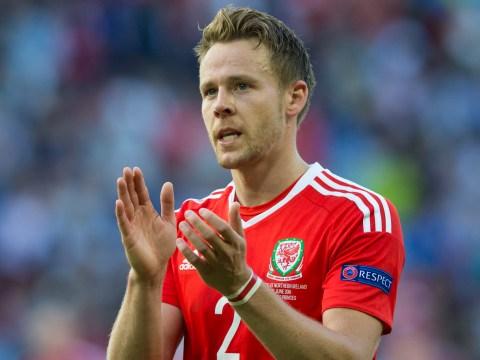 Wales defender Chris Gunter defends celebrations after England loss
