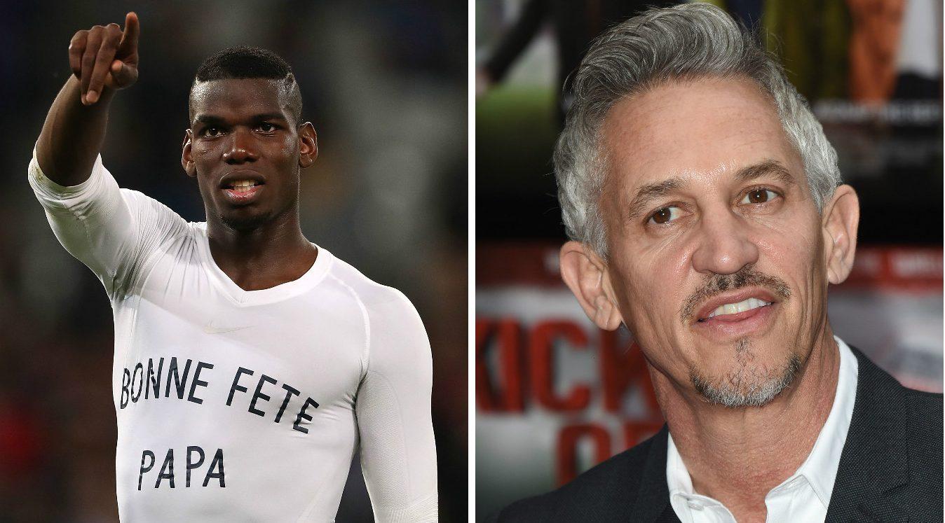 Gary Lineker slammed for calling Manchester United target Paul Pogba overrated