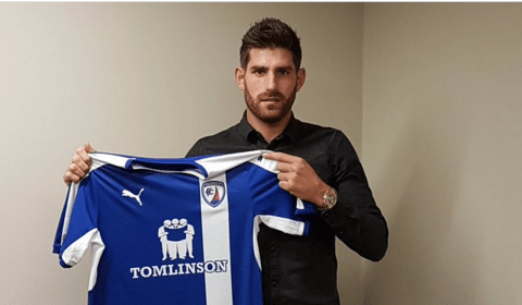Chesterfield sign Ched Evans despite upcoming rape retrial