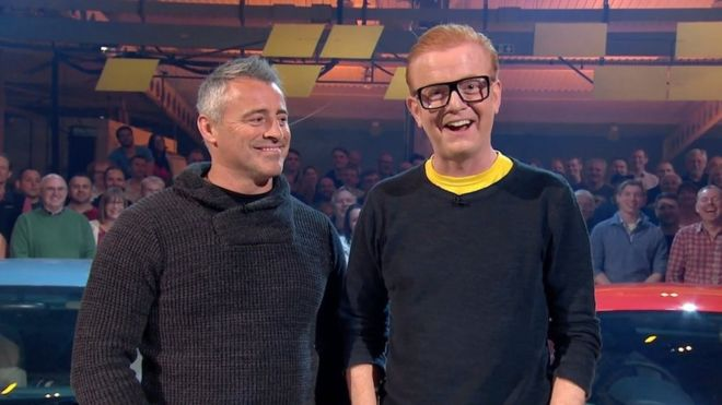 Chris Evans co-hosts with Matt LeBlanc (Picture: BBC)