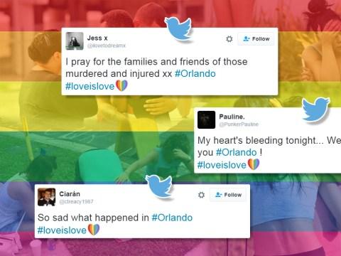 The world unites in reaction to Orlando massacre with #loveislove hashtag